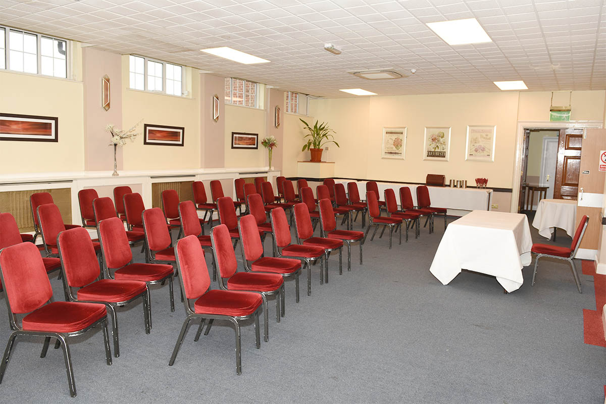 <h5>The Wembley Room</h5> Capacity 40-60 Dining